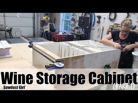 Wine Storage Cabinet (part 1)