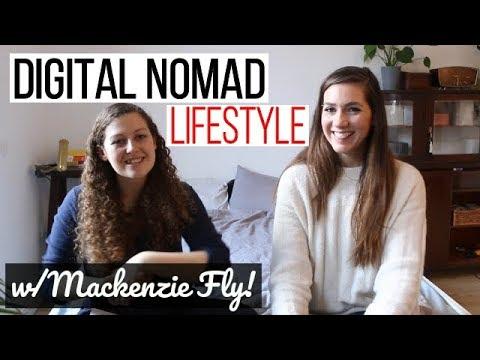 DIGITAL NOMAD TIPS, ADVICE & INSPIRATION w/Mackenzie Fly!