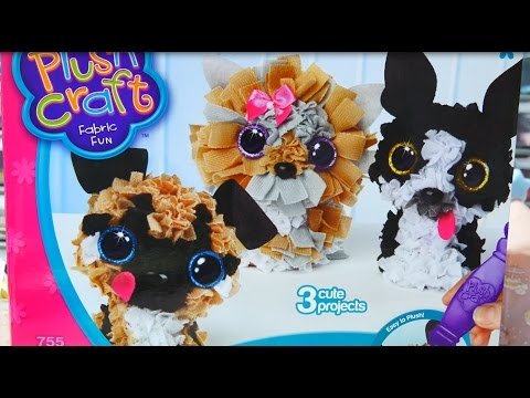 Plush Craft-Puppy Pack (Unboxing/Review/Let's Play