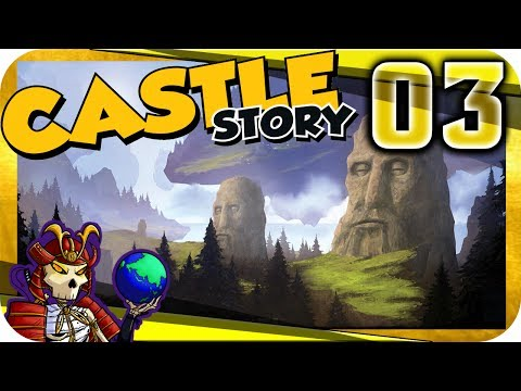 Castle Story 0.9 Early Access | Building Defences | Let's Play Castle Story Gameplay