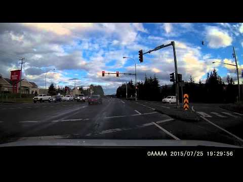 Red Light Runner, Nanaimo B.C.