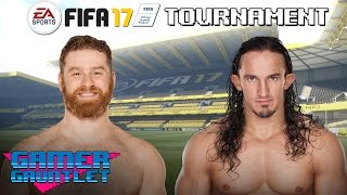 FIFA 17 Tournament Rd. 1: Neville vs. Sami Zayn — Gamer Gauntlet