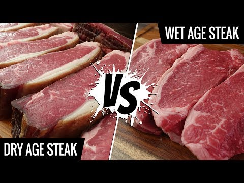 Dry Age Steak VS Wet Age Steak Sous Vide - Is there a DIFFERENCE?