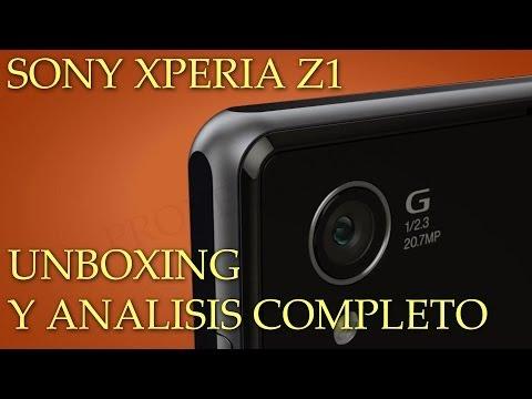 Sony Xperia Z1   Unboxing en Español ✔