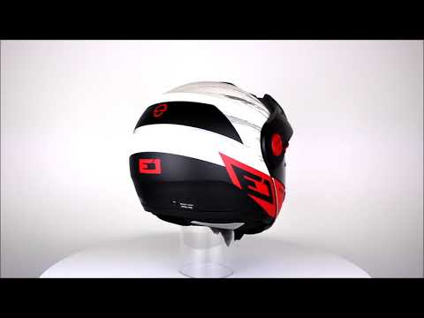 SCHUBERTH E1 Crossfire Red Motorcycle Helmet