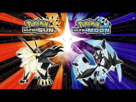 Pokemon Ultra Sun and Ultra Moon GBA Rom Hack