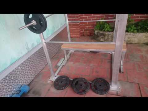 My home gym equipment