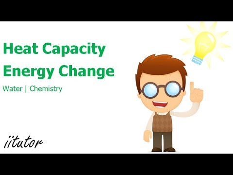 √ Heat Capacity and Energy Change - Water - Chemistry - iitutor