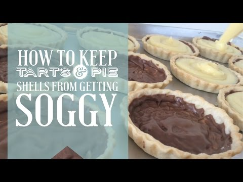 How to Keep Tart and Pie Crusts from Getting Soggy | Awesome Baking Hack | Greggy's Digest