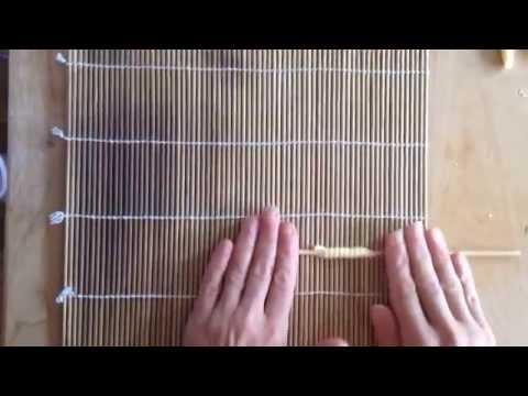 how to make fusilli rigati (handmade pasta, ridged fusilli)