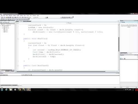 C# Programming 25 - Deck of Cards