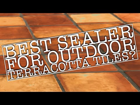 Best sealer to seal outdoor and exterior terracotta Saltillo tiles | my recommendation