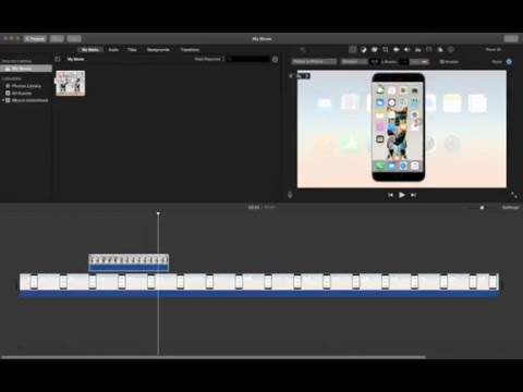 how to make picture in picture video with imovie?