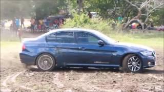 BMW Drift in Lake