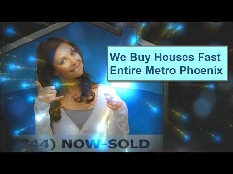 Sell My Home Fast in Metro Phoenix, Arizona | We Buy Houses Quick As Is For Cash | No Repairs Needed