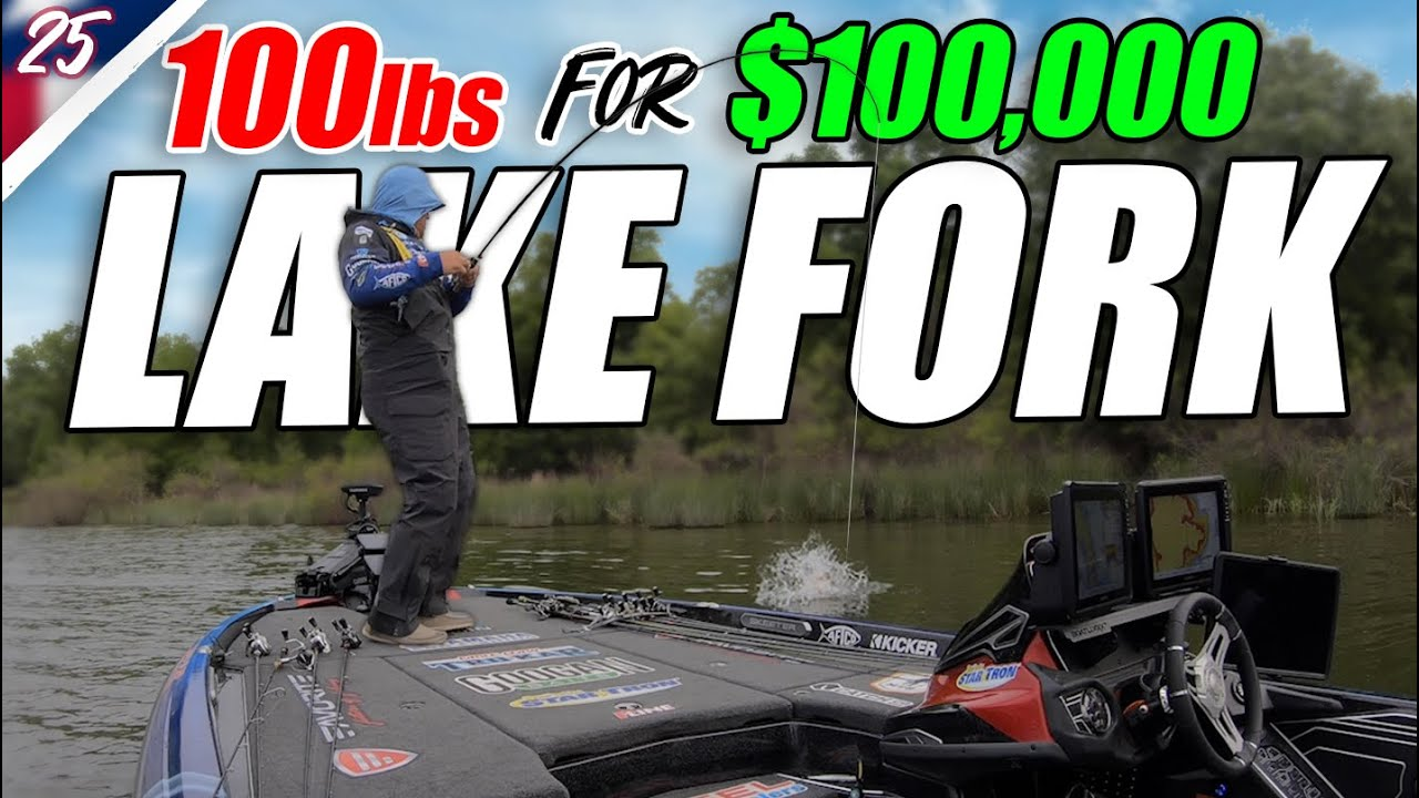 100lbs of Bass for $100k - Bassmaster Elite Lake Fork Day 1&2 - Unfinished Family Business Ep.25