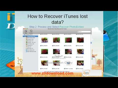 Recover deleted SMS from iTunes backup files for iPhone 5,iphone 4S and iPhone 4