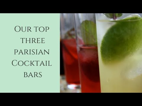 Top 3 Best Paris Cocktail Bars [Tuesday Tip #13]