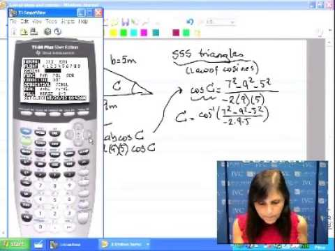 17  Trig 1 Solving SSS Triangles