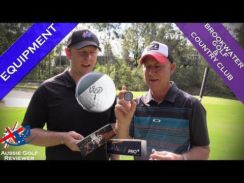 VICE PRO PLUS GOLF BALL REVIEW at BROOKWATER GOLF & COUNTRY CLUB