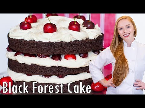 Black Forest Cake - Chocolate Cherry Cake