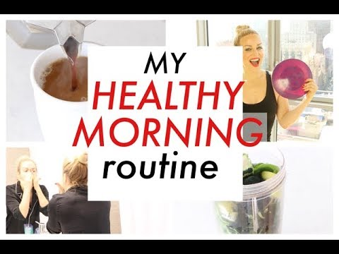 MY HEALTHY MORNING ROUTINE | TRACY CAMPOLI