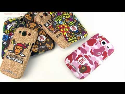Samsung Galaxy S III Ape Bape pirate store cartoon animals protective cases introduction