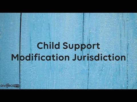 Divorce - Child Support Modification Jurisdiction