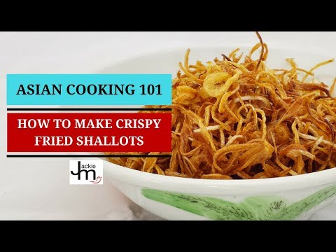 How to Make Crispy Fried Shallots or Onions
