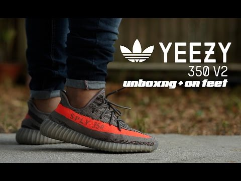 5129540f72081 Adidas Yeezy Boost 350 V2 Unboxing + On Feet
