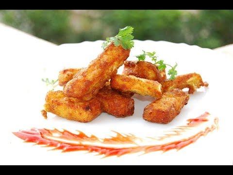 How to make simple crispy Paneer Golden Fry?