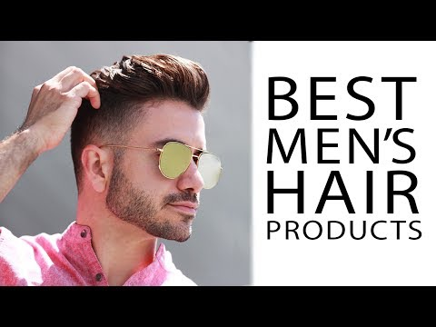 BEST MEN'S HAIR PRODUCTS 2017 | My Favorite Hair Products | ALEX COSTA