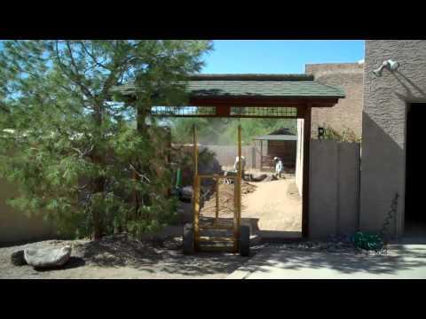 Japanese Tea Garden Start of Construction