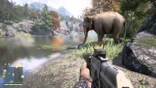 Far Cry 4 - Elephant vs Crocodile