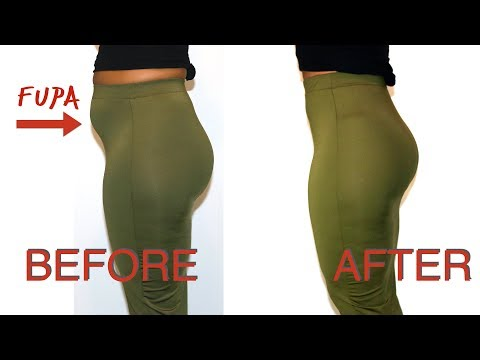 HOW TO HIDE MY FUPA | BEFORE AND AFTERS
