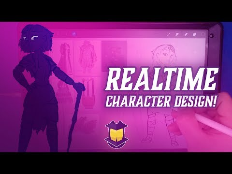 REALTIME Character Design! Part 1