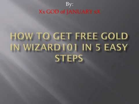 How to get free gold in Wizard101 in 5 Easy Steps