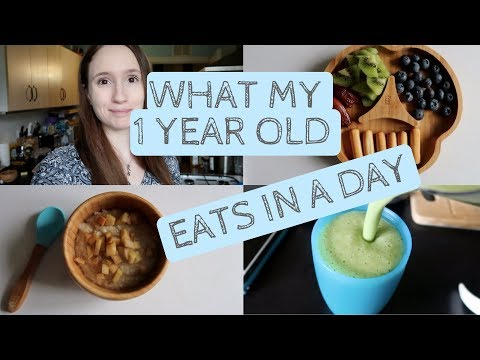 WHAT MY 1 YEAR OLD EATS IN A DAY (Free from dairy, egg, peanut)