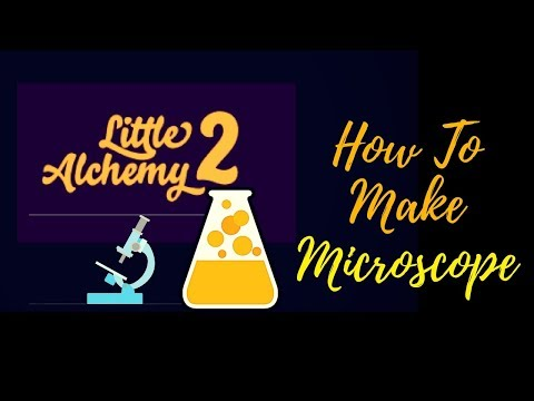 Little Alchemy 2-How To Make Microscope Cheats & Hints