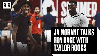 Ja Morant Says He's Rookie Of The Year Over Zion Williamson On FaceTime With Taylor Rooks