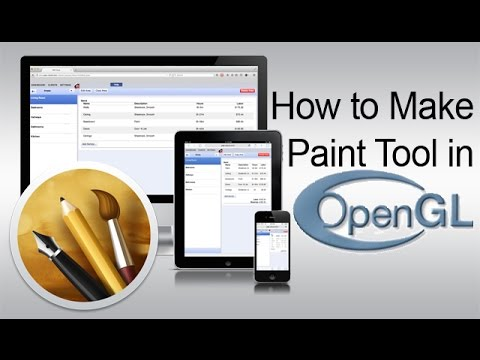 How to Make Paint Tool in Opengl