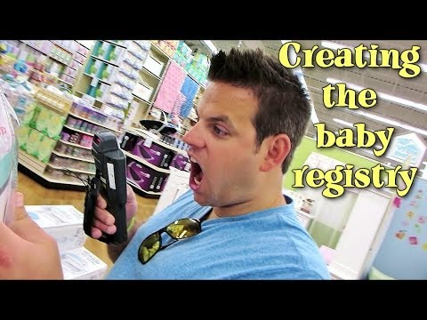 CREATING THE BABY REGISTRY | Baby Steps: Cullen & Katie