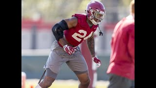 Alabama LB laughs saying they try not to hit QBs in practice