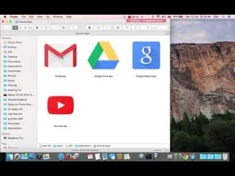 How to remove delete uninstall Google Chrome Apps  shortcuts from Mac Macbook iMac launchpad OS X?