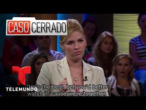 Caso Cerrado | Therapeutic Cuddling Turns to Erection 🍆 | Telemundo English