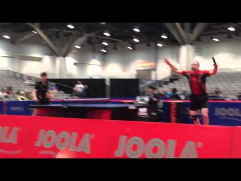 Danny Seemiller's 0-3 comeback at 2014 US Table Tennis Nationals