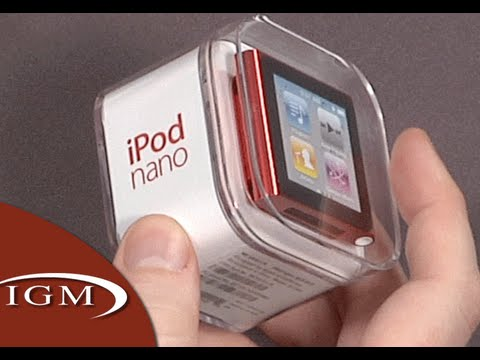 iPod nano 6th Generation/6G (PRODUCT) RED (Hands-On)