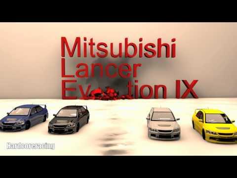 Mitsubishi Lancer Evolution IX Tribute #1