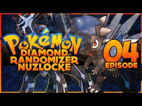 Pokémon Diamond Randomizer Nuzlocke - 04 - Oreburgh badge! [REUPLOAD]