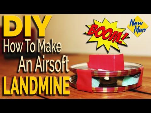 DIY Landmine at Home Easy Tutorial